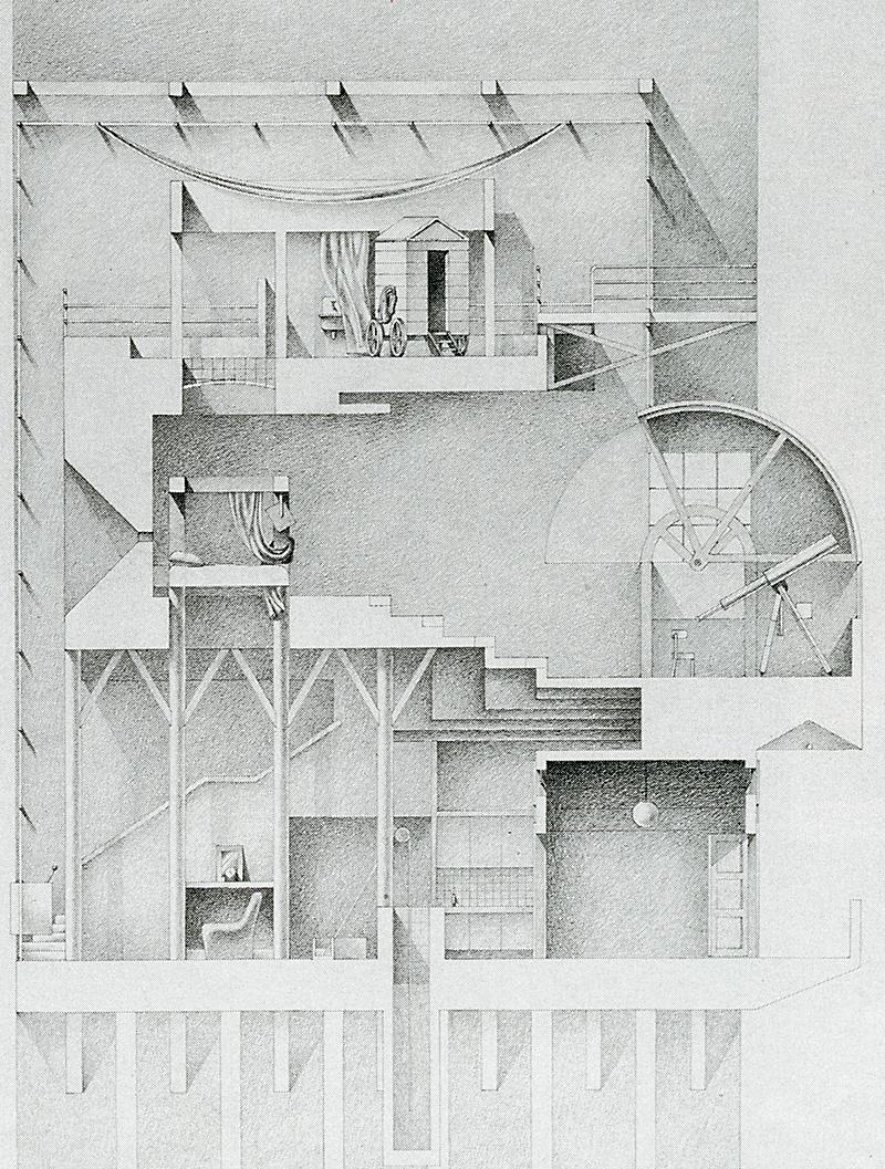 Adrian Bold. Japan Architect Mar 1989, 13