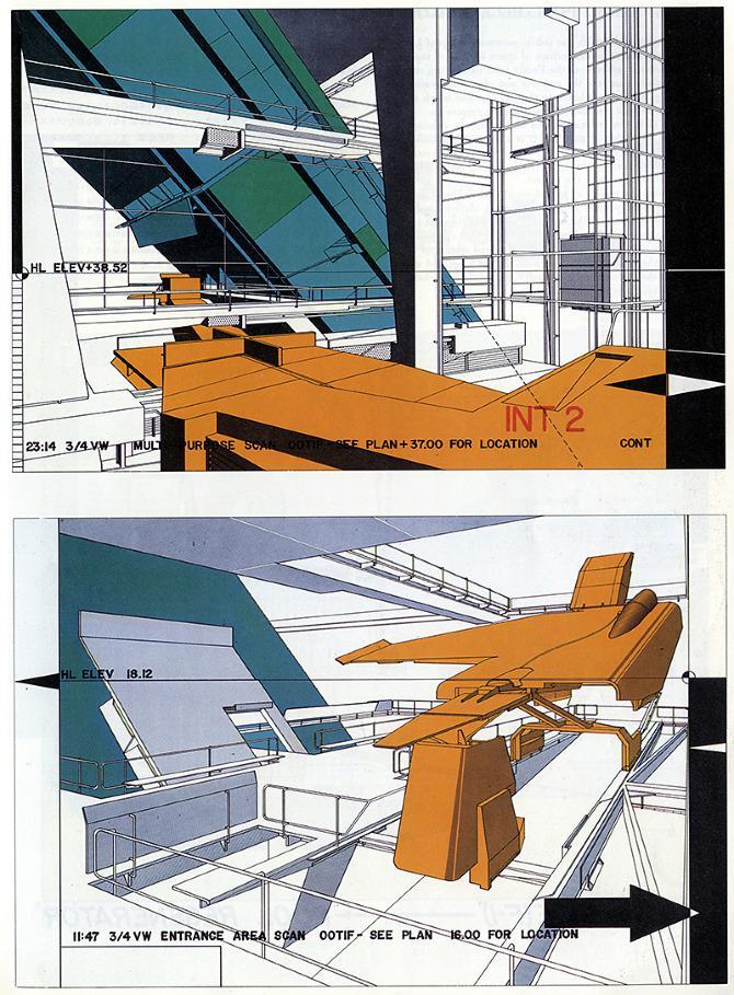Neil Denari. A+U 246 March 1991, 35