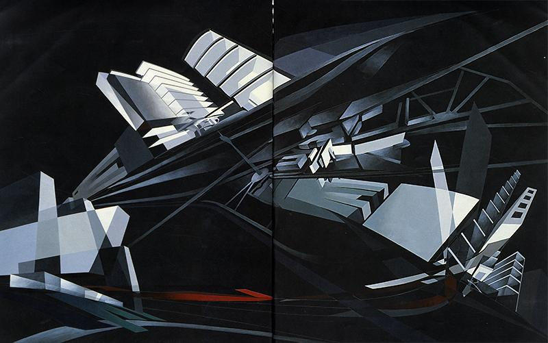 Zaha Hadid. AA Files 27 Summer 1994, 22