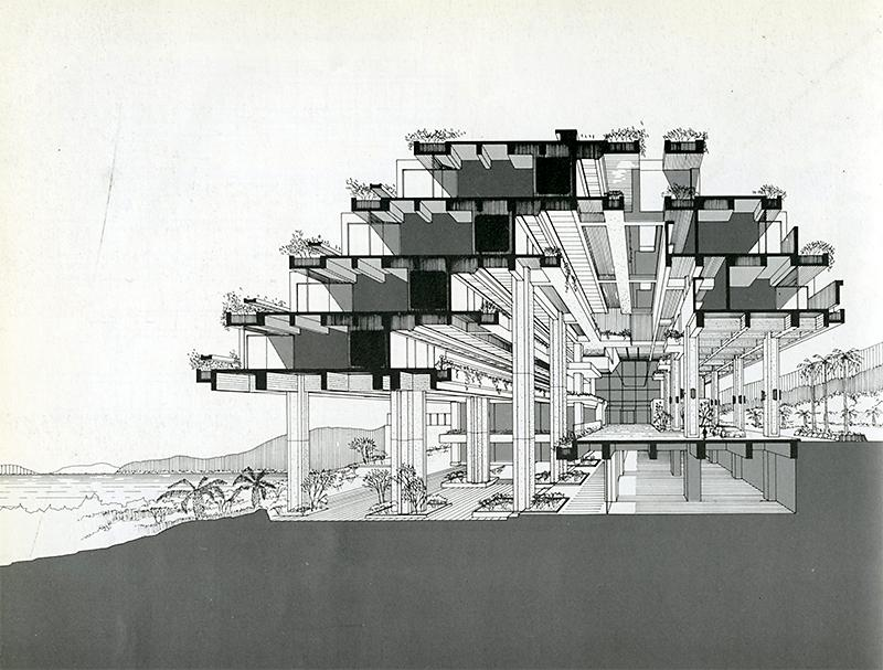 Kuni-ken. Japan Architect 53 Jan 1978, 68