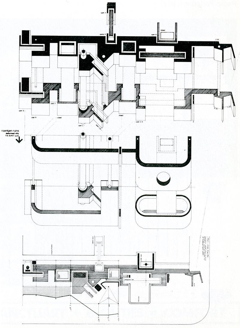 Les Harcum. Japan Architect 53 Feb 1978, 47