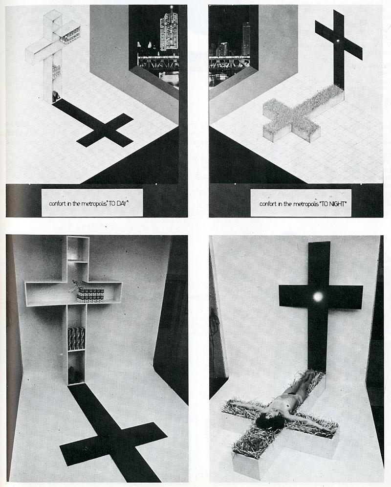 Piero Brombin. Japan Architect 53 Feb 1978, 43