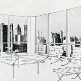 Mies van der Rohe. Architectural Forum Jan 1950, 76