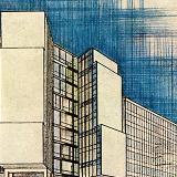 Max Bill. Casabella 228 1959, cover