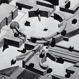 Bernard Tschumi. L'invention du parc. Graphite 1984, 36