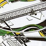 Bernard Tschumi. L'invention du parc. Graphite 1984, 23