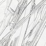 Zaha Hadid. L'invention du parc. Graphite 1984, 77