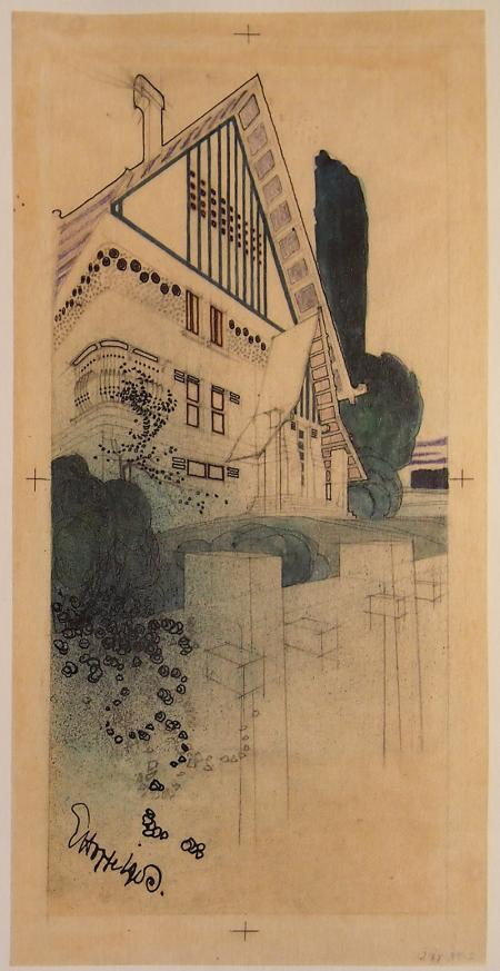 Emil Hopper. Envisioning Architecture (MoMA, New York, 2002) 1903, 42