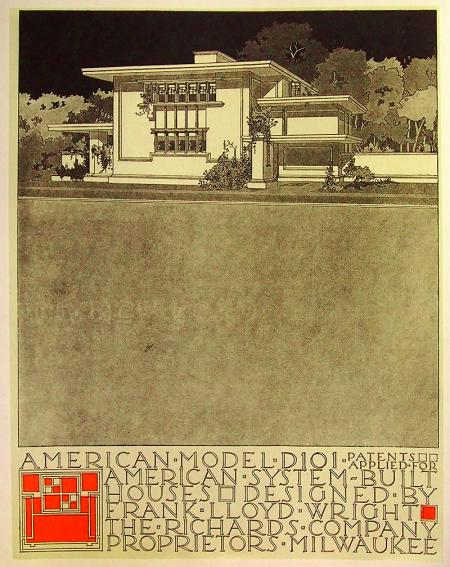 Frank Lloyd Wright, Antonin Raymond. Envisioning Architecture (MoMA, New York, 2002) 1915, 44