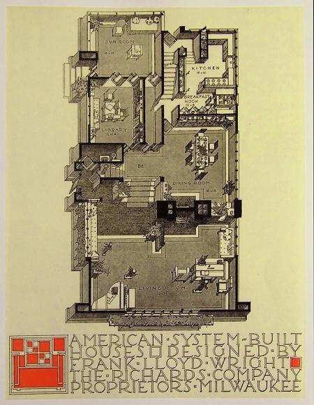 Frank Lloyd Wright, Antonin Raymond. Envisioning Architecture (MoMA, New York, 2002) 1915, 45