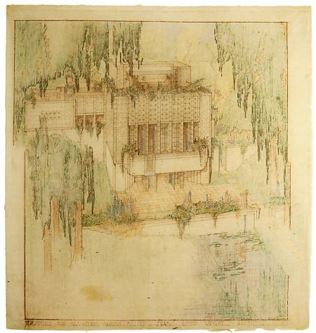 Frank Lloyd Wright. Envisioning Architecture (MoMA, New York, 2002) 1923, 63