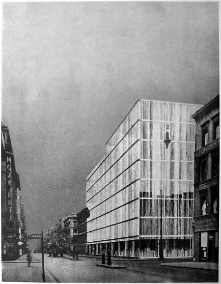 Mies van der Rohe. Architectural Record 68 30 October 1930, 490