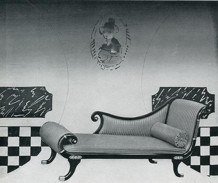 Constantino Nivola. Interiors v.100 n.7 Feb 1941, 20