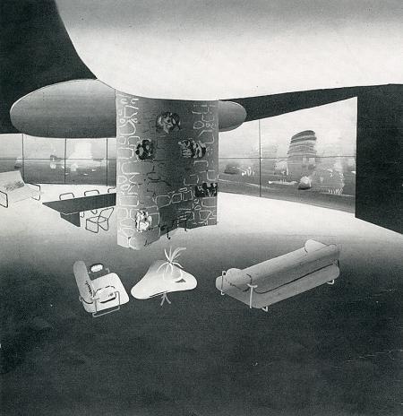 Paul Lester Wiener. Interiors v.101 n.1 Aug 1941, 23