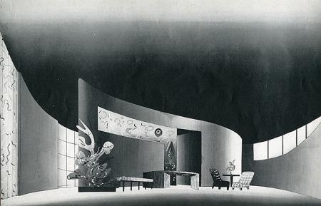 Planert and Lange. Interiors v.100 n.6 Jan 1941, 26