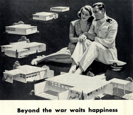 A Lawrence Kocher and Lyman Anderson. Architectural Forum 77 July 1942, 10