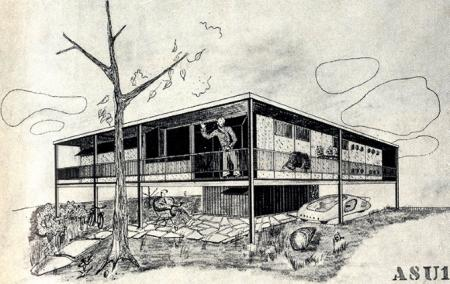 George Daub and Peter Blach. Architectural Forum 77 September 1942, 91