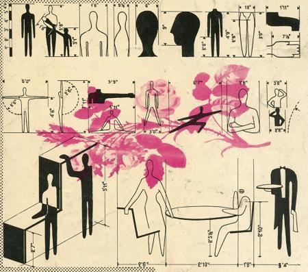 Nino Repetto. Interiors v.101 n.8 Mar 1942, cover