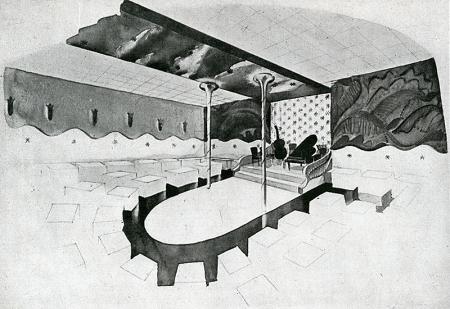 George Farkas. Interiors v.104 n.3 Oct 1944, 68