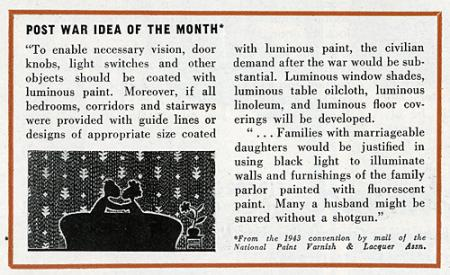 Nation Paint Varnish Lacquer Assn. Architectural Forum 80 February 1944, 6