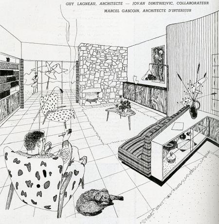 Guy Lagneau. Architecture D'Aujourd'Hui v. 20 no. 30 Jul 1950, 3