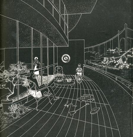 IM Pei. Architectural Forum Jan 1950, 95