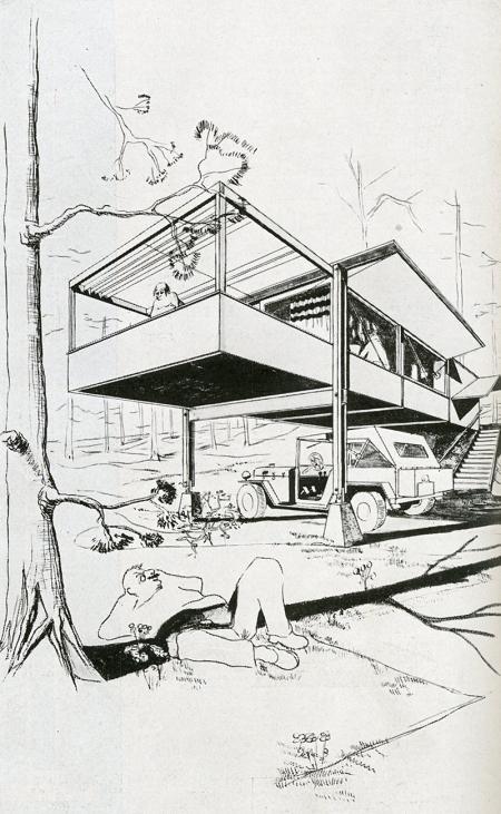 Wright Willis Conklin Geddes. Architecture D'Aujourd'Hui v. 20 no. 28 Feb 1950, 86