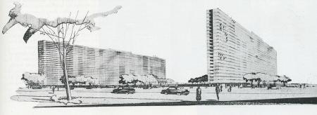 Skidmore Owings Merrill. Architectural Forum Aug 1950, 101