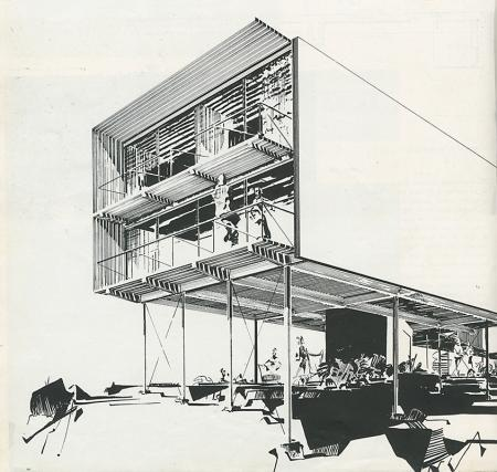 Greta Grossman. Arts and Architecture. Feb 1951, 32