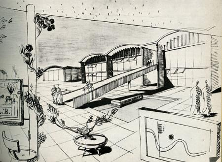 Mayer and Wittlesey. Architectural Record 112 July 1952, 180