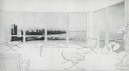 Mies van der Rohe. Arts and Architecture. Mar 1952, 21