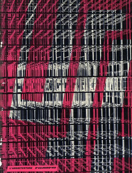 Architecture D'Aujourd'Hui. v. 24 no. 50 Dec 1953, cover