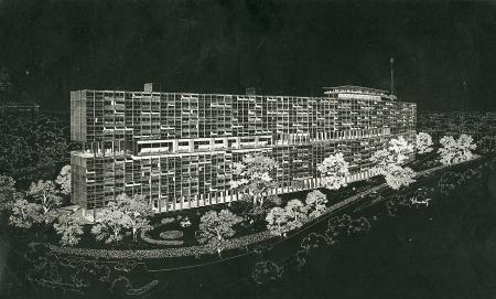 Eli Rabineau. Architectural Forum Apr 1953, 153
