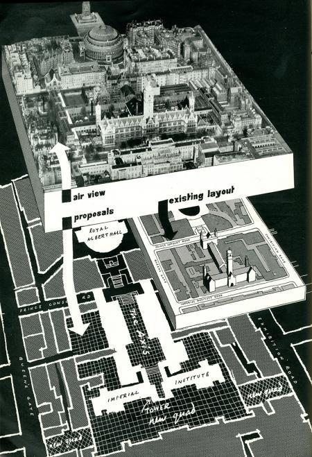 Gordon Cullen. Architectural Review v.118 n.703 Jul 1955, 31