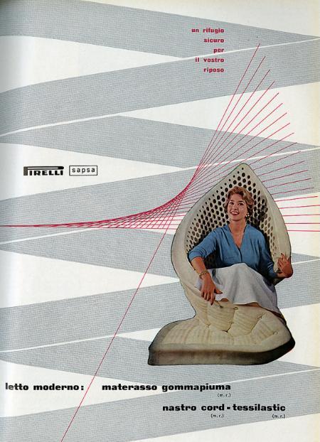Pirelli. Domus 310 September 1955, D