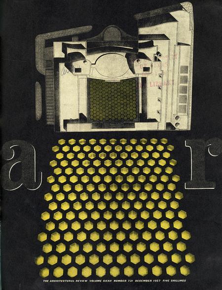 David du R. Aberdeen. Architectural Review v.122 n.731 Dec 1957, cover