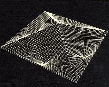 Eduardo Catalano. Architectural Review v.124 n.742 Nov 1958, cover