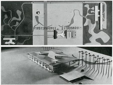 Oscar Niemeyer and Lucio Costa. Casabella 218 1958, 38