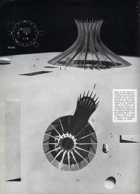 Oscar Niemeyer. Architectural Review v.125 n.745 Feb 1959, 102
