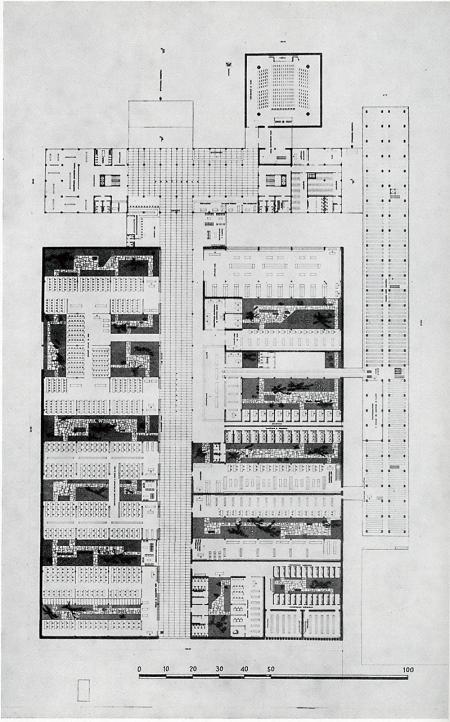 Massimo Castellazzi, Tullio Dall'Anese and Annibale Vitellozzi. Casabella 239 1960, 37