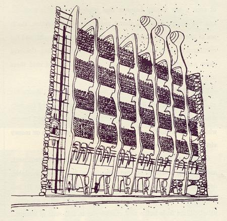 Amancio Gueses. Architectural Review v.129 n.770 Apr 1961, 241