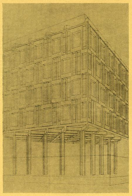 Eero Saarinen. Architectural Review v.129 n.770 Apr 1961, 257