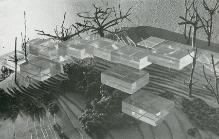 Javier Barroso, Ladron de Guevara, and Angel Orbe Cano. Architecture D'Aujourd'Hui. 95 Apr 1961, xxv