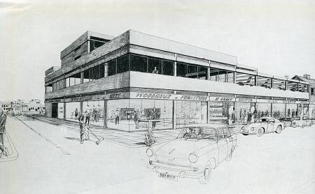 Covell and Matthews. Architectural Review v.131 n.779 Jan 1962, 56