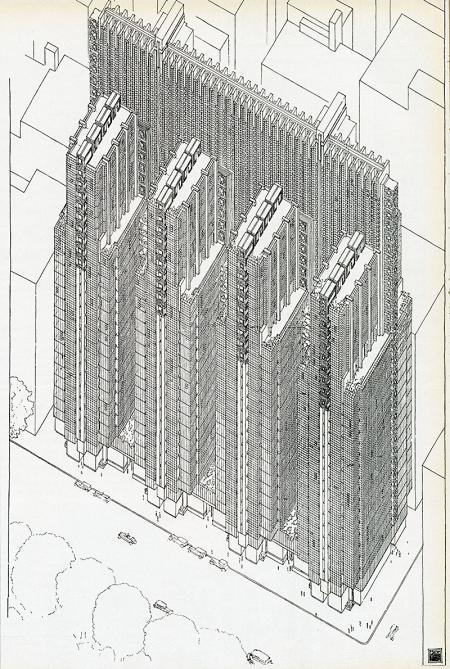 Frank Lloyd Wright. Casabella 260 1962, 41