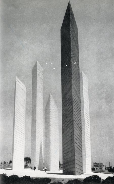 Mathias Goeritz. Architecture D'Aujourd'Hui 102 Jun 1962, xxiii