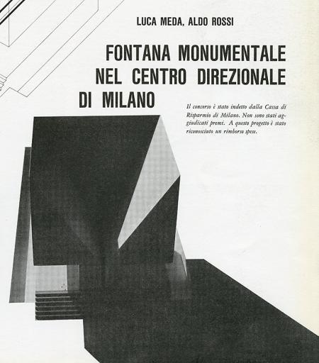 Luca Meda, Aldo Rossi. Casabella 276 1963, 43