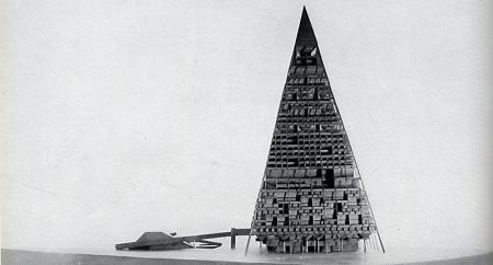 A. Gomis, D. Cler, E. Ciriani, L. Yvanes, M. Yung, H. Bier, P. Salles. Casabella 299 1965, 79