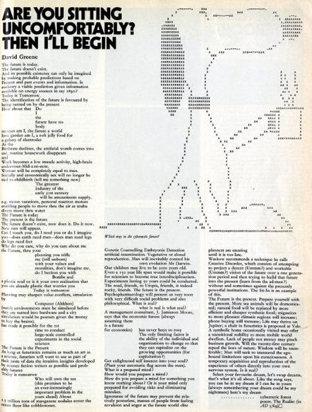 David Greene. Architectural Design 39 August 1969, 506