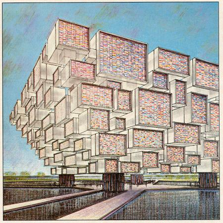 Ara Derderian. Architectural Record. Apr 1970, 55